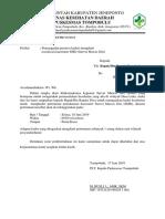 Surat Sosialisasi Kuesioner SMD