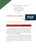 Europa, El Carbon y Las Energía Alternativas