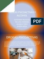 Drogas Psicoactivas y Alcohol
