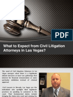 All about what you can expect from Civil Litigation Attorneys in Las Vegas