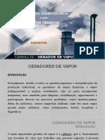 2019-IT_IV-Gerador de Vapor (Conceitos)