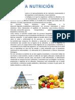 C.T.a - La Nutricion y La Dieta Saludable