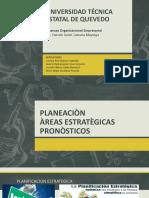 Grupo 5 Areas Estrategicas Pronostico