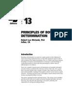 Bdry Determination