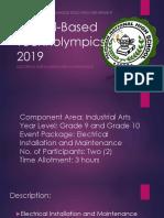 School-Based Technolympics 2019