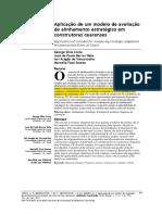 1-Aplicação de Um Modelo de Avaliação de Alinhamento Estratégico Em Construtoras Cearences