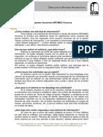 Dudas infomex