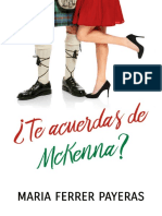 Te Acuerdas de McKenna- Maria Ferrer Payeras