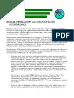 Rags Spanish Fact Sheet