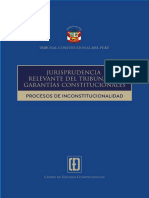 TC Jurisprudencia Relevante_2018