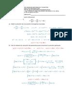 Ejercicios Univalle (Ecuaciones Diferenciales)