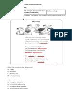 Actividad para cuaderno de copias 4° B Lenguaje