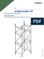 Doka_Load Bearing Tower D3