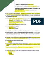 Cuestionario de Derecho Registral 2019