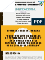Biomasa Forestal Urbano