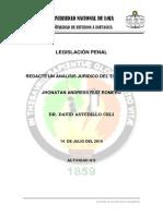 analisis juridico del tipo penal