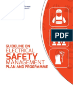 Guideline on Electrical Safety Management Plan and Programme