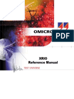 XRio Reference Manual