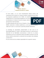 Presentación curso inglés 1 INVIL