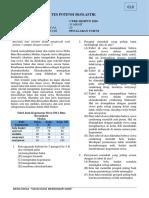 Prediksi UTBK TPS 2020 - Penalaran Umum FIX