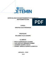 Grupo Electrogeno Informe