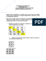 Ejercicios Matrices 1