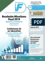 Resolucion Miscelanea Fiscal 2019