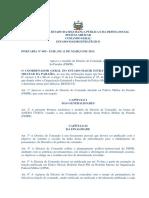 PORTARIA Nº 005 - EME, DE 11 DE MARÇO DE 2013.
