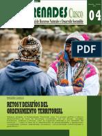 Region Cusco Retos y Desafios Del Ordenamiento Territorial Revista Renades Nro 4