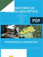LABORATORIO de Mineralogía Óptica 3