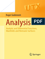(Universitext) Roger Godement, Urmie Ray - Analysis III_ Analytic and Differential Functions, Manifolds and Riemann Surfaces-Springer (2015).pdf