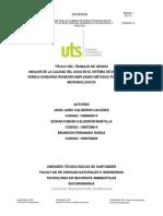 Rdc-95 Analisis de La Calidad Del Agua Del Sistema de Drenaje Churicas