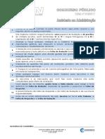 Prova 2017 - Assistente Administrativo (UFRN)