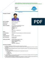Nism Admit Card