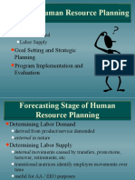 37674933 Stages in Human Resource Planning
