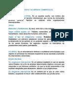 Imprimir Tratados y Acuerdos Comerciales