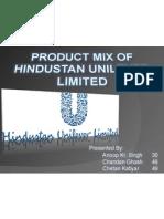 Product Mix HUL