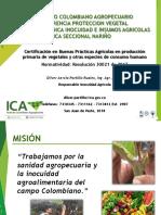 Presentación Inocuidad Agrícola 2018