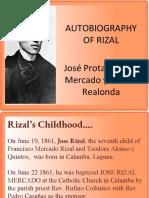 the life of Jose Rizal
