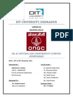 ONGC Visit Report 1
