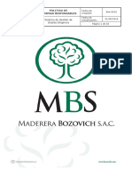 MBS-Politica de Compras Responsables