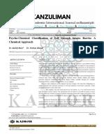 Psycho-Chemical Classification of Soil through fatawa Razvia