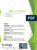 12. Ecology