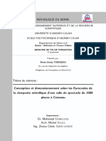Memoire Dimensionnement Charpente Metallique
