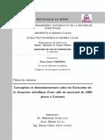Memoire Dimensionnement Charpente Metallique