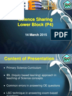 Primary 4 Science