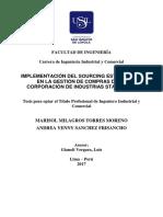 2017 Torres Moreno Implementación