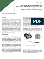 CPR01 Hydraulic Transformer & CPR