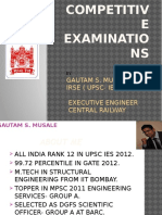 Gautam- Competitive exams.pptx