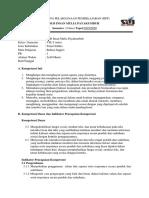 Rencana Pelaksanaan Pembelajaran b.inggris Kelas VII SMPLB